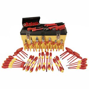 Wiha 32876 Insulated Set With Pliers Cutters Nut Drivers Screwdrivers
