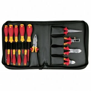 Wiha 32895 Insulated 14pc Master Electrician Set
