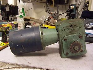 Leeson 1 2 Hp Electric Gearmotor 34 5 Rpm Output 208 230 460 Vac 3