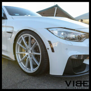 19 Vertini Rf1 1 Silver Forged Concave Wheels Rims Fits Bmw E46 325 330