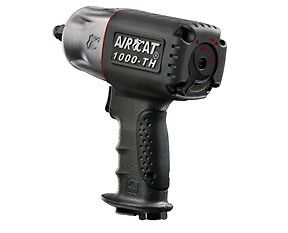 Aircat 1000th 1 2 In Twin Hammer Composite Air Impact Wrench