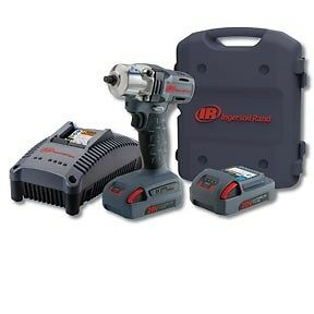 Ingersoll Rand 20v 1 5 Ah Cordless Lithium ion 3 8 In Mid torque Impact Wrench