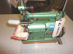 Crochet Sewing Machine Merrow 18 e Made In Usa Used