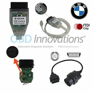Bmw Inpa Ediabas Ncs K D can Obd2 Usb Ftdi Jumper Switch 20 Pin Cable