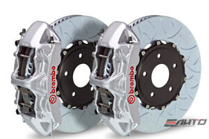 Brembo Front Gt Brake 6pt Silver Caliper 380x34 Type3 Mustang V6 Gt Ecoboost 15