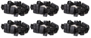 6 Police Security Guard Modular Enforcement Equipment Duty Belt Tactical Nylon