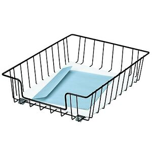 case Of 12 Fellowes 60112 Workstation Letter Size Desk Tray Organizer Wire