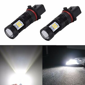 Jdm Astar 1500lm P13w 12277 Super Bright 3030 Smd White Led Bulbs Drl Fog Lights