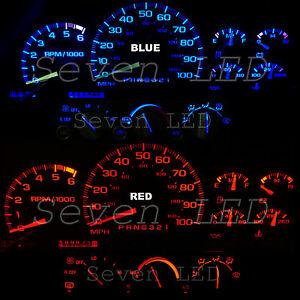 Led Kit For Silverado Tahoe Suburban Gmc 95 99 Chevy Cluster Climate Control