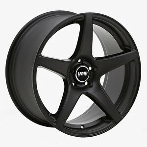 18x9 5 Vmr V705 5x112 Et45 Matte Black Wheels set Of 4