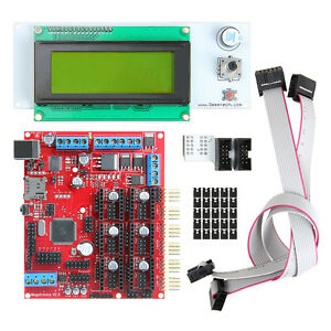 Megatronics V2 0 Controller Board lcd 2004 For Prusa I3 Reparap 3d Printer