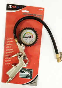 Air Piston Tire Inflator With Gauge 220psi Free Shipping Usa