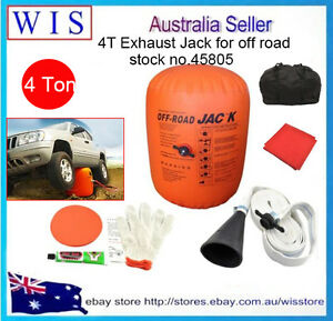 4 Ton Exhaust Air Lifting Jack For Off Road Vehicl For Large Medium Sized Suv