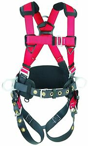 Protecta Full Body Pro Construction Harness Back And Side D rings