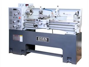 Eisen 1440ev Precision Lathe 5hp Dro Installed Heavy Cast iron Base
