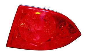 For Passenger Right Outer Tail Light Fit 2006 07 08 09 10 11 Buick Lucerne