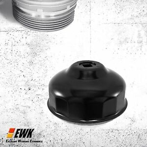 Ewk 86mmx16 Flutes Oil Filter Wrench Cap Socket For Volvo Bmw 3 8 Drive