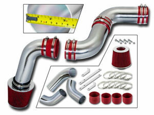 3 5 Red Cold Air Intake Kit Filter For 99 07 Silverado sierra 1500 4 3l V6