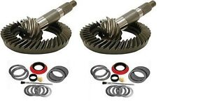 1973 1988 Gm 10 5 Dana 60 5 38 Ring And Pinion Mini Install Gear Pkg