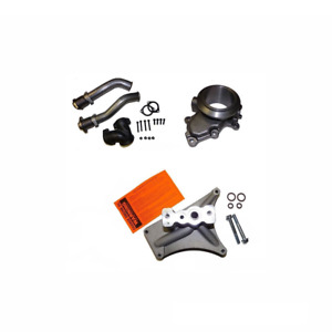 99 5 03 Ford 7 3 7 3l Powerstroke Turbo Kit Pedestal Exhaust Housing Up Pipes