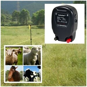30km Electric Fence Solar Power Energy Controller Animal Farm Livestock Lx6110