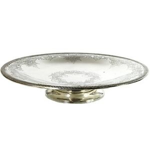 American Sterling Silver Footed Bowl Tazza By Meriden Britannia Company Ca 1900