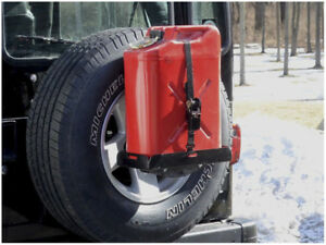 New Morryde Spare Carrier Mount Jerry Can Holder With Short Tray Jp54 004
