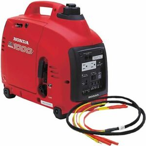 Honda Eu1000 Watt Inverter Generator And Parallel Kit single Generator