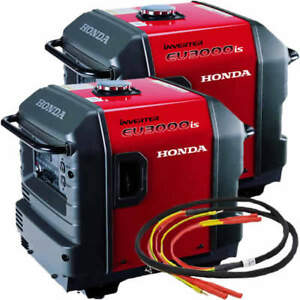 Honda Eu3000 Inverter Generators 2 And Parallel Cable Kit