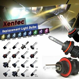 Two Hid Kit S Replacement Bulbs Xentec Xenon Headlight Fog Light 30000lm 35 55w