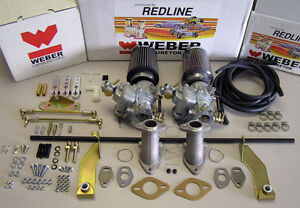 Vw Weber Carb Kit Beetle Bug Type1 Bus Type Ii Single Port Dual 34ict Weber