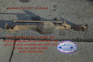 1959 1964 Chevrolet Bel Air Impala Biscayne Rearend Axle Housing Bare Original
