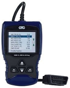 Otc 3209 Obd Ii Abs And Airbag Scan Tool
