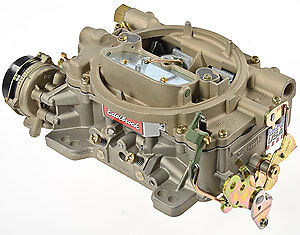 Edelbrock 1409 Performer Series Marine Carburetor 600 Cfm With Electric Choke