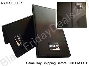 10x Black Restaurant Guest Check Presenter Credit Card Receipt Bill Holder Book