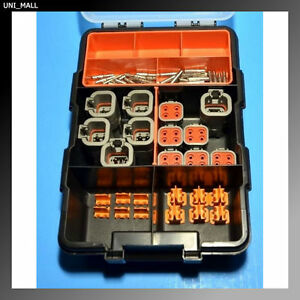 72 Pcs Deutsch Dtp 4 pin Connector Kit 12 14awg Solid Contacts made In Usa