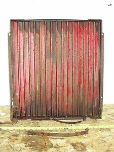 Farmall Tractor Radiator Shutter Attachment Super C 200 230 355770r92