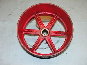 Farmall Cub Lo Boy Tractor Belt Pulley Pto 357284r1