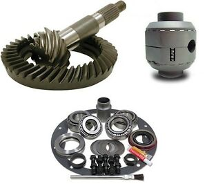 Dana 44 Ford Reverse 4 11 Ring And Pinion Aussie Locker Install Gear Pkg