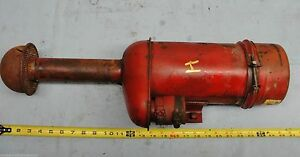 Farmall H Tractor Air Cleaner Breather Cup Clamp