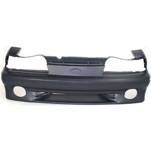Ford Mustang 1987 88 89 90 91 92 1993 New Bumper Cover Facial Front Gt Fo1000164