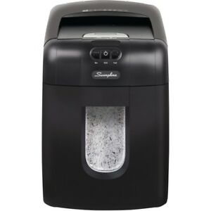 Swingline reg Stack and shred trade 130m Auto Feed Shredder Micro cut 130 Sh