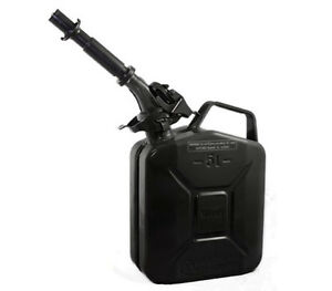 New Wavian 5 Liter Nato Military Steel Jerry Can Black 3027