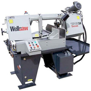 Wellsaw 1316s sa 13 X 16 Semi automatic Miter Saw Made In Usa Free Shipping