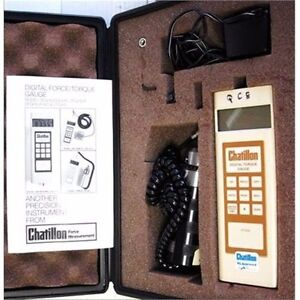 Chatillon Digital Torque Force Dtghs Push Pull Scale Gauge
