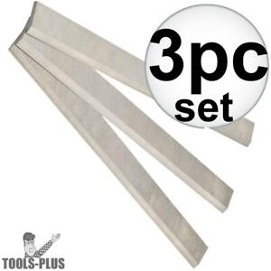 Jet 708810 Set Of 3 Replacement Knives For Jwp 20hh Planers New