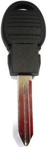 New Uncut Remote Replacement Fobik Transponder Chip Ignition Key Blade Blank
