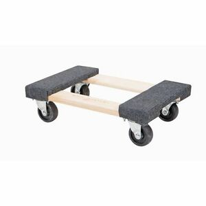 Lot Of 2 two 1000 Lb Capacity 12 x 18 Movers Moving Furniture Dolly New