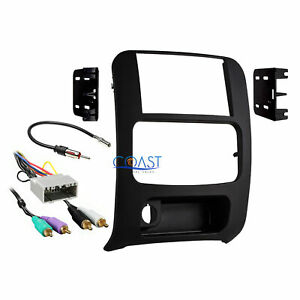 Car Stereo Double Din Dash Kit Amp Harness Antenna For 2002 2007 Jeep Liberty