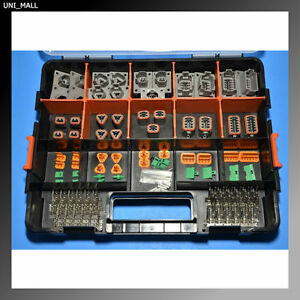 226 Pcs Deutsch Dt Flange Connector Kit 14 16awg Stamped Contacts Usa